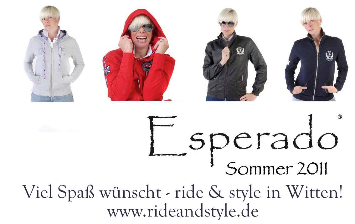 Sommerkollektion Esperado Reitmode 2011