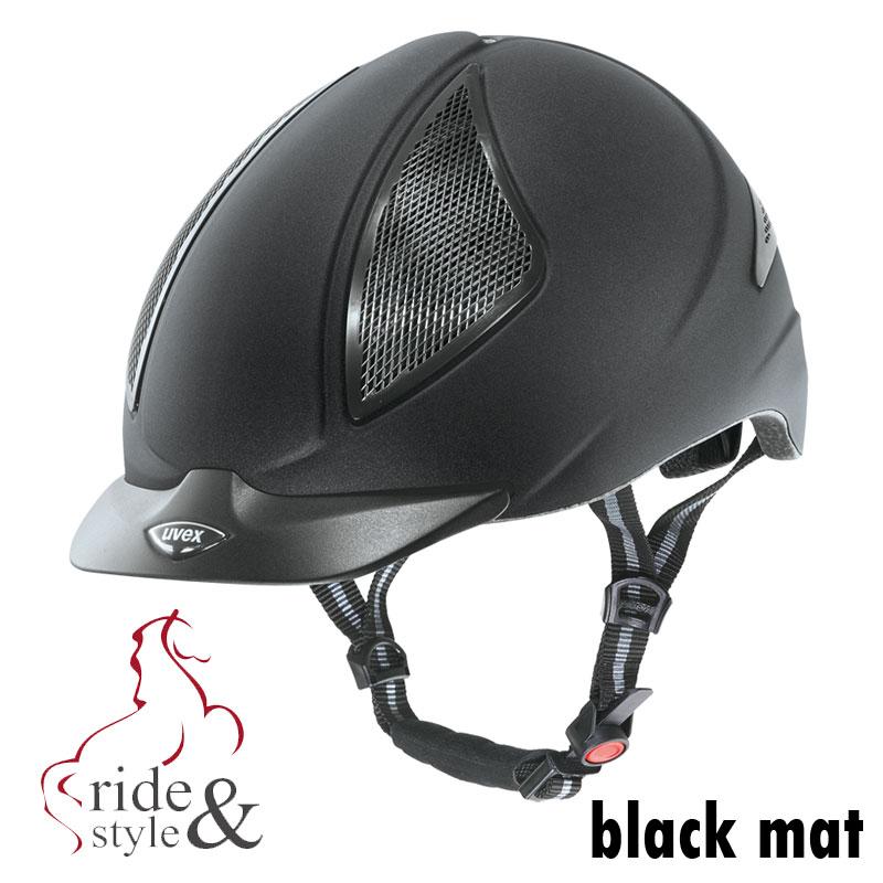 uvex-reithelm-uvision-black-mat