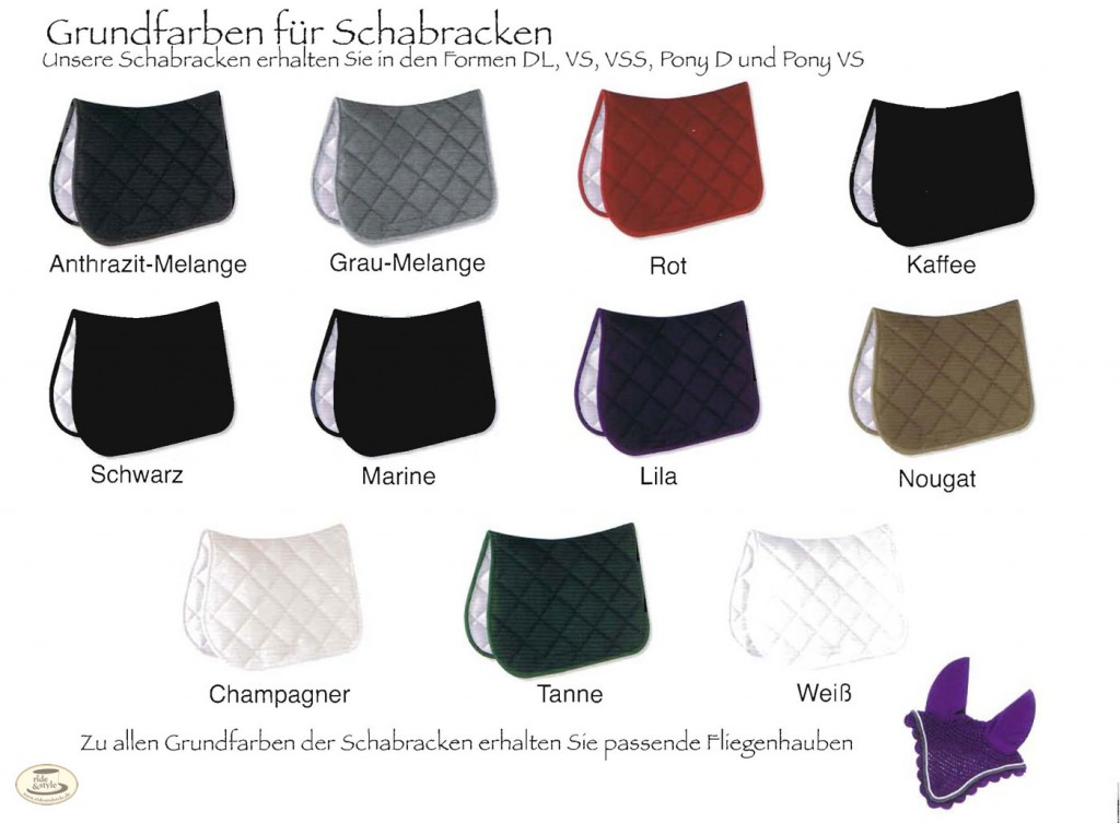 Esperado Schabracken, Esperado Abschwitzdecken, Esperado Fliegenhauben - Create Your Own Collection bei ride & style in witten