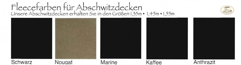 EsperadoFleecfarben Abschwitzdecken 2011