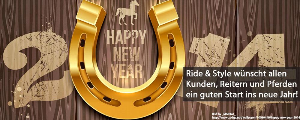 Ride & Style wünscht ein guten Start ins neue Jahr 2014!