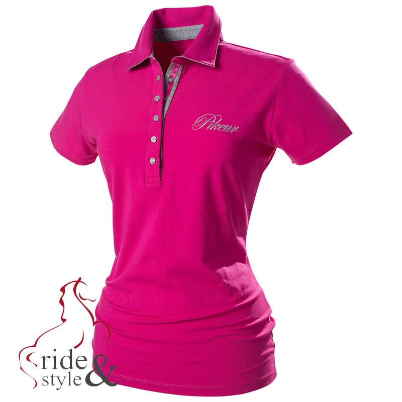 Pikeur-Damen-Poloshirt-Dolly-aus-der-aktuellen-Sommerkollektion-2015-pink