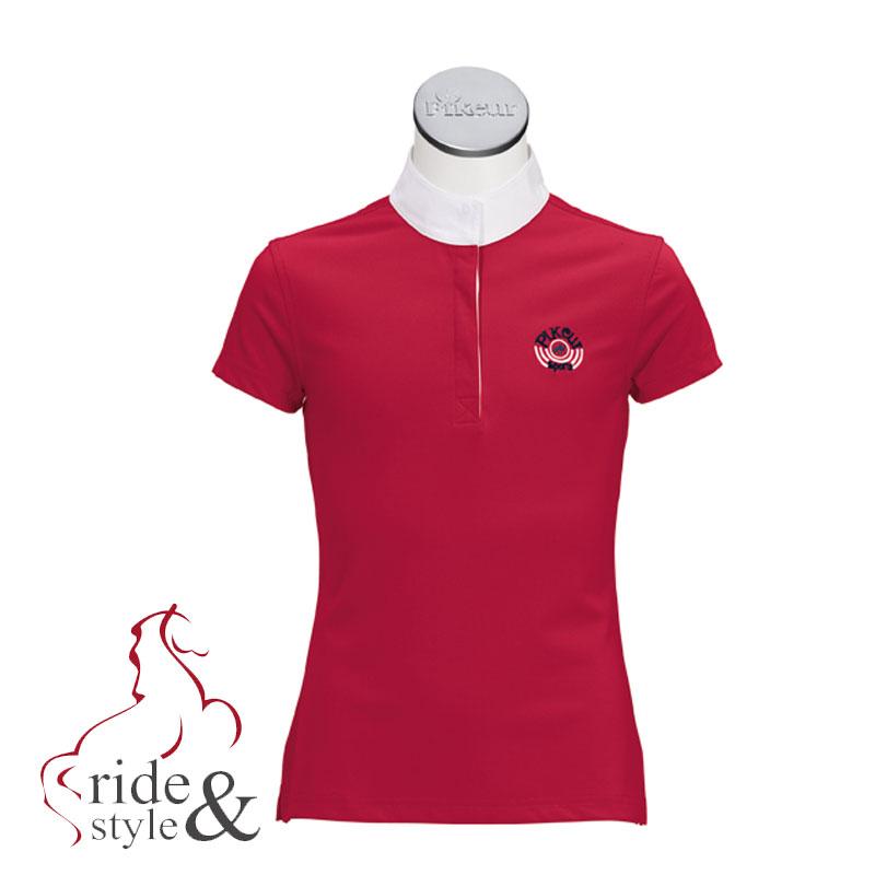 pikeur-turniershirt-rot-sommer2013