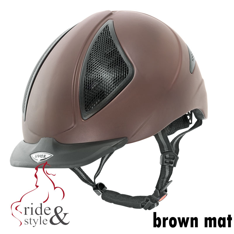 uvex-reithelm-uvision-brown-mat